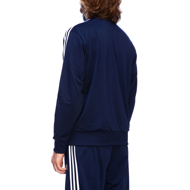 Sudadera Adidas Originals: Sudadera hombre Adidas Originals azul oscuro 3