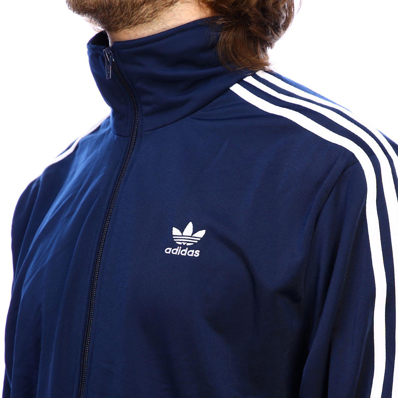 Felpa Adidas Originals: Felpa uomo adidas originals blue 4