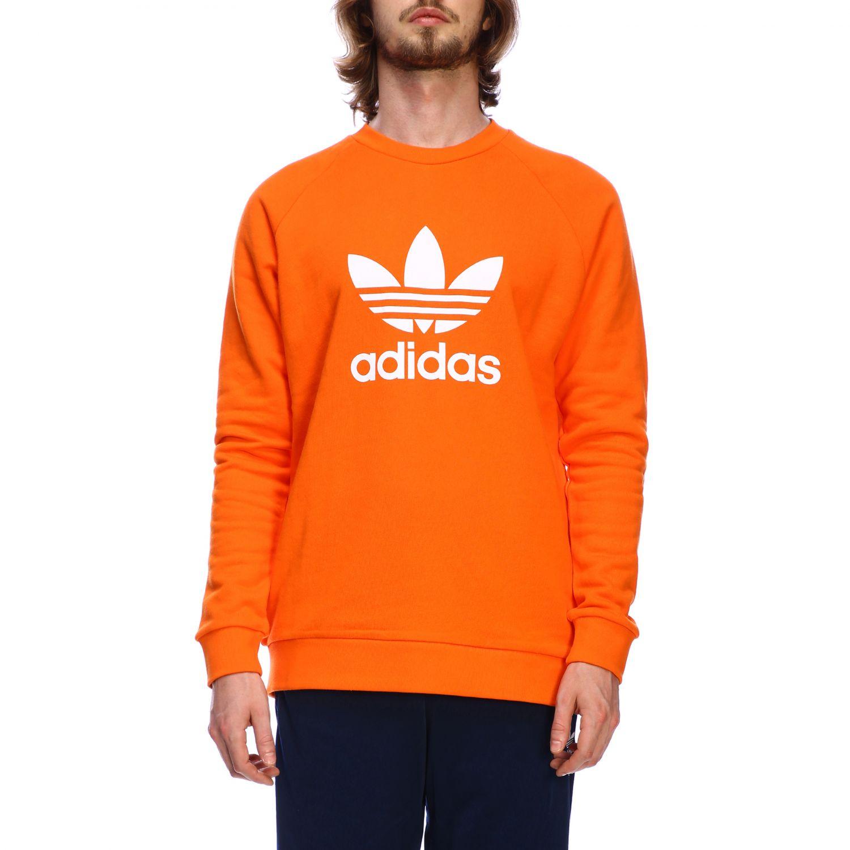 Sudadera Adidas Originals: Sudadera hombre Adidas Originals naranja 1
