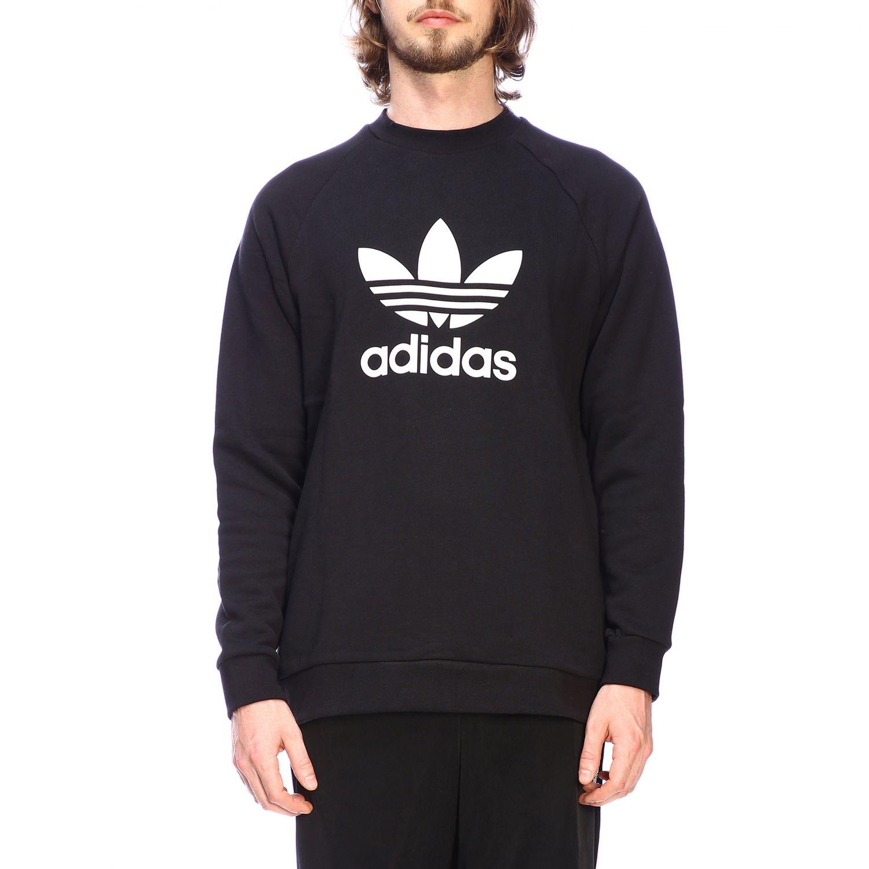 Sudadera Adidas Originals: Sudadera hombre Adidas Originals negro 1