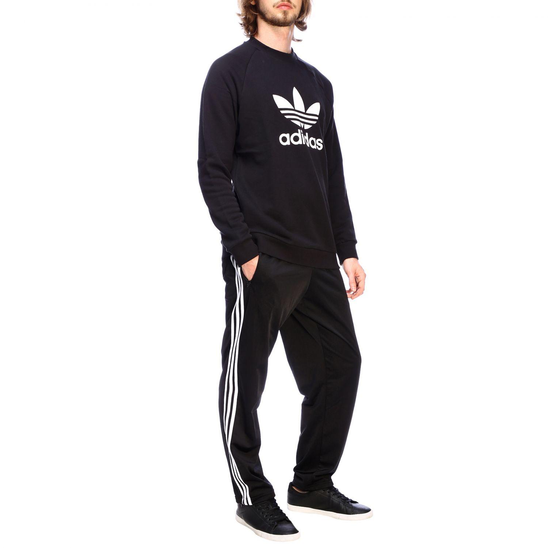 Sudadera Adidas Originals: Sudadera hombre Adidas Originals negro 2