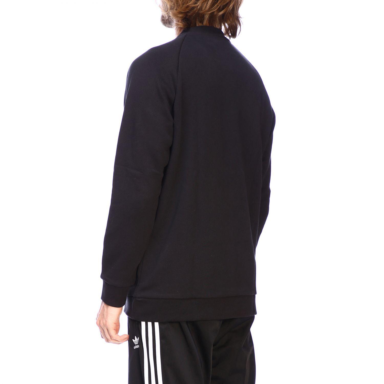 Sudadera Adidas Originals: Sudadera hombre Adidas Originals negro 3