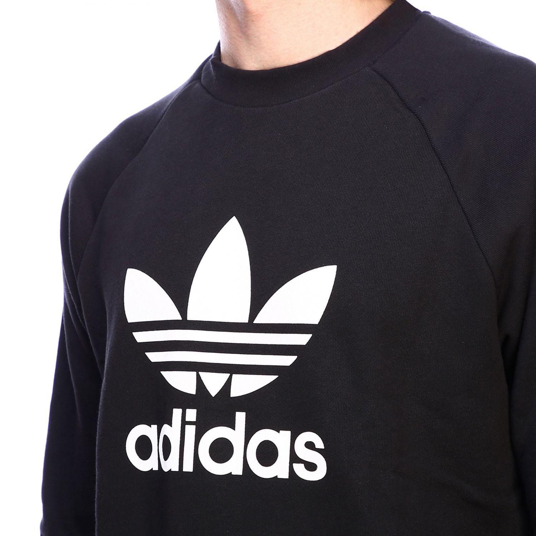 Sudadera Adidas Originals: Sudadera hombre Adidas Originals negro 4