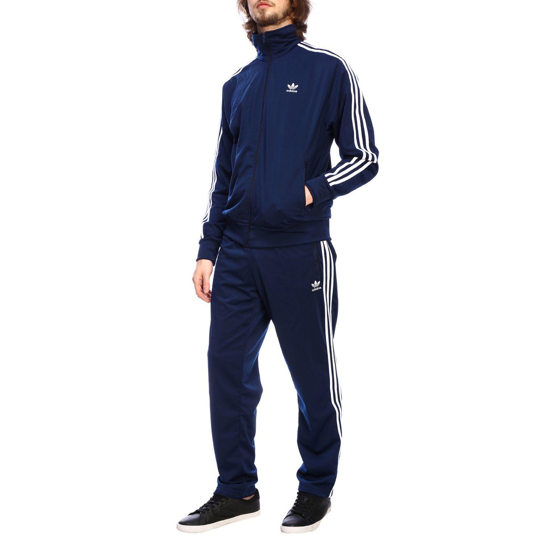 Pantalón Adidas Originals: Pantalón hombre Adidas Originals azul oscuro 2