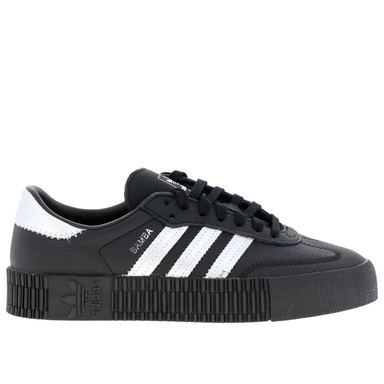 Sneakers Adidas Originals: Adidas Samba Originals By Pharrell Williams sneakers in smooth and laminated leather black 1