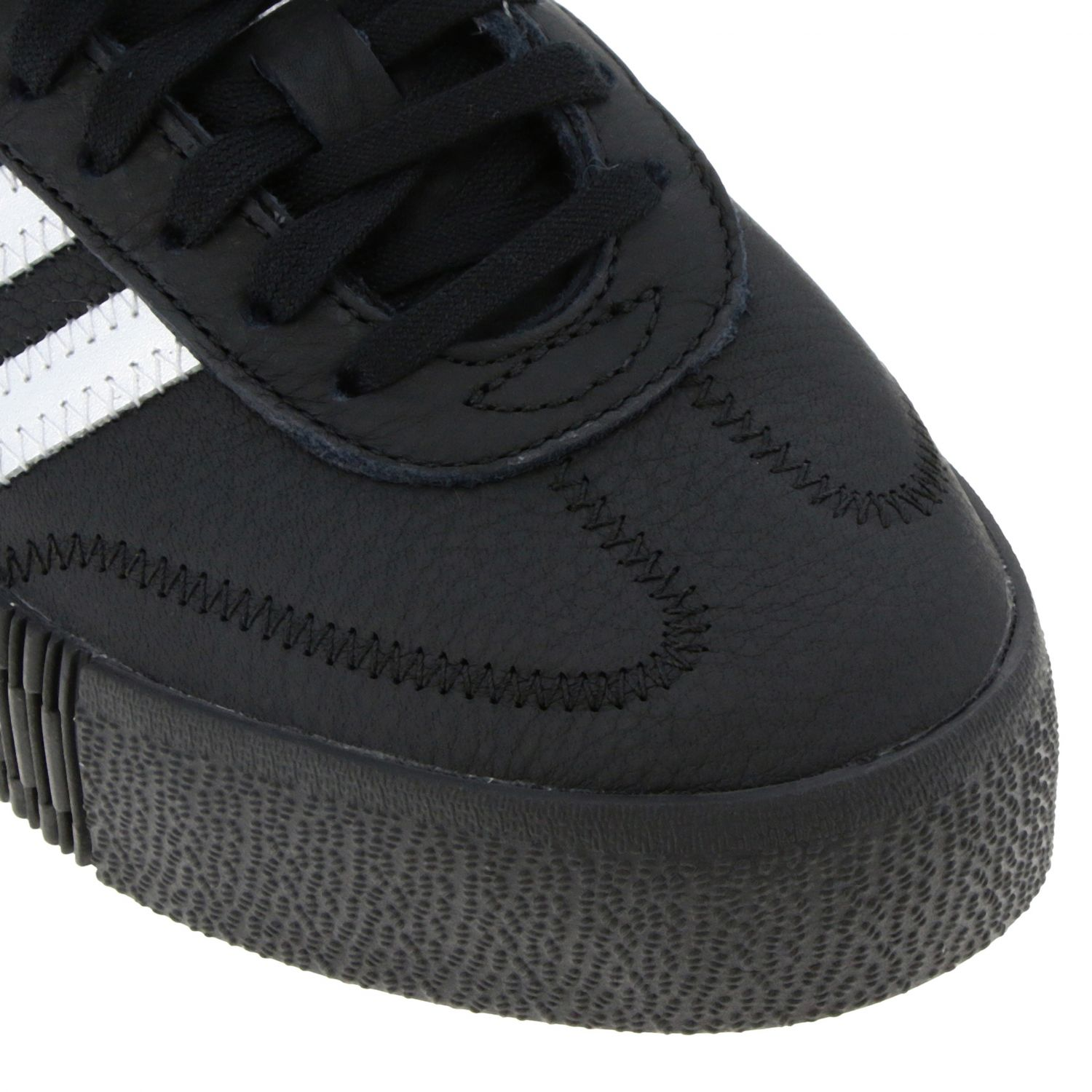 Sneakers Adidas Originals: Adidas Samba Originals By Pharrell Williams sneakers in smooth and laminated leather black 3