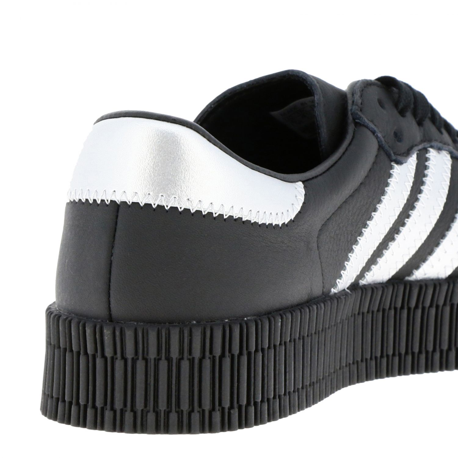 Sneakers Adidas Originals: Adidas Samba Originals By Pharrell Williams sneakers in smooth and laminated leather black 4