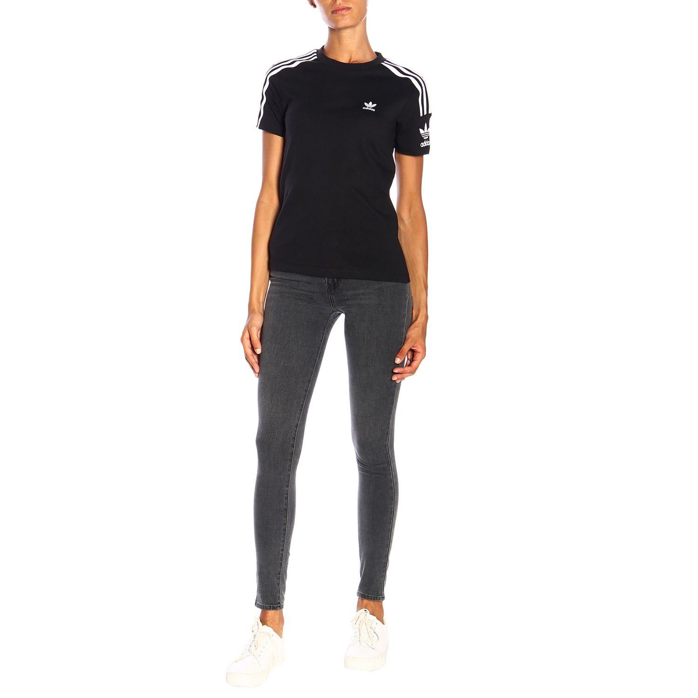 T-Shirt Adidas Originals: T-shirt women Adidas Originals black 2