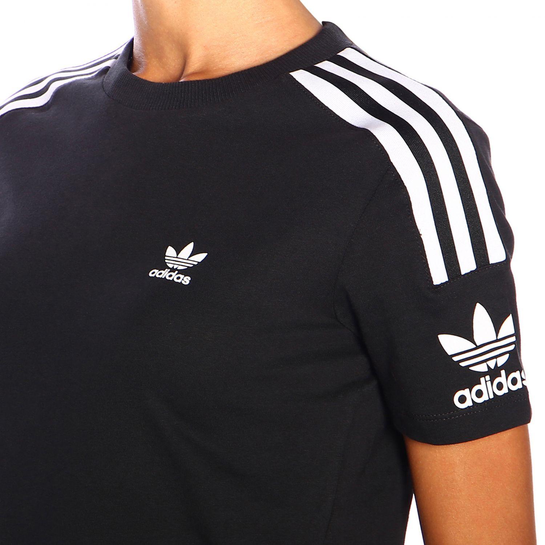 T-Shirt Adidas Originals: T-shirt women Adidas Originals black 4