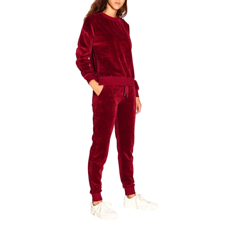 Pants women Colmar burgundy 2