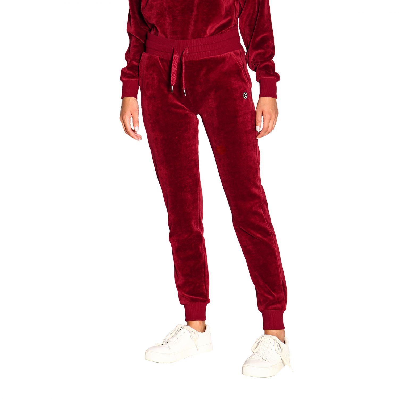 Pants women Colmar burgundy 4