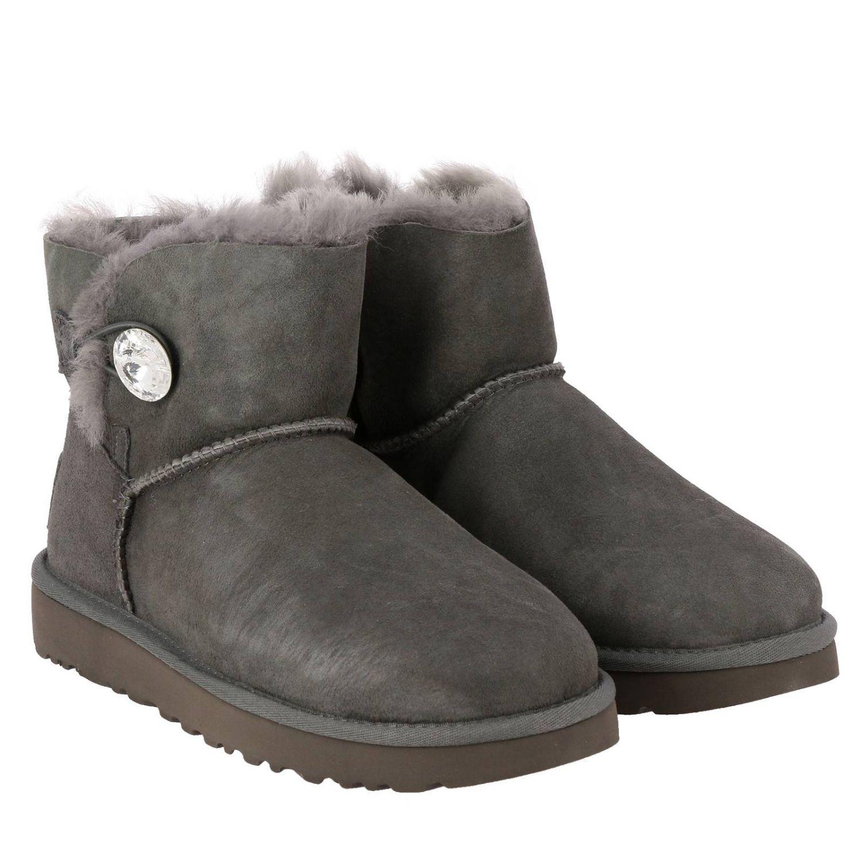 平底靴 Ugg Australia: 平底靴 女士 Ugg Australia 灰色 2