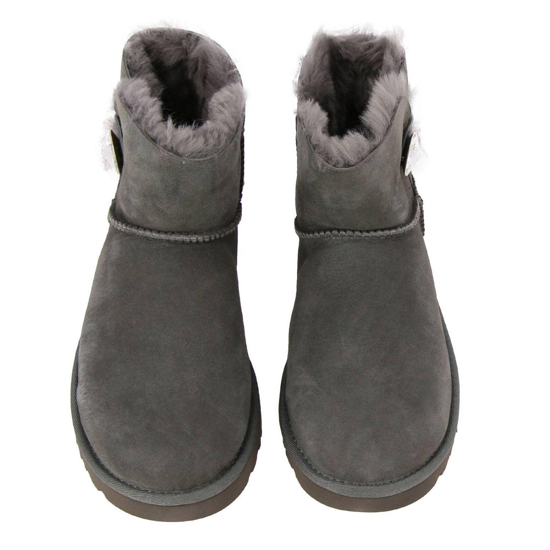平底靴 Ugg Australia: 平底靴 女士 Ugg Australia 灰色 3
