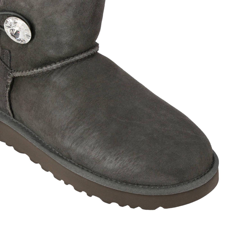 平底靴 Ugg Australia: 平底靴 女士 Ugg Australia 灰色 4