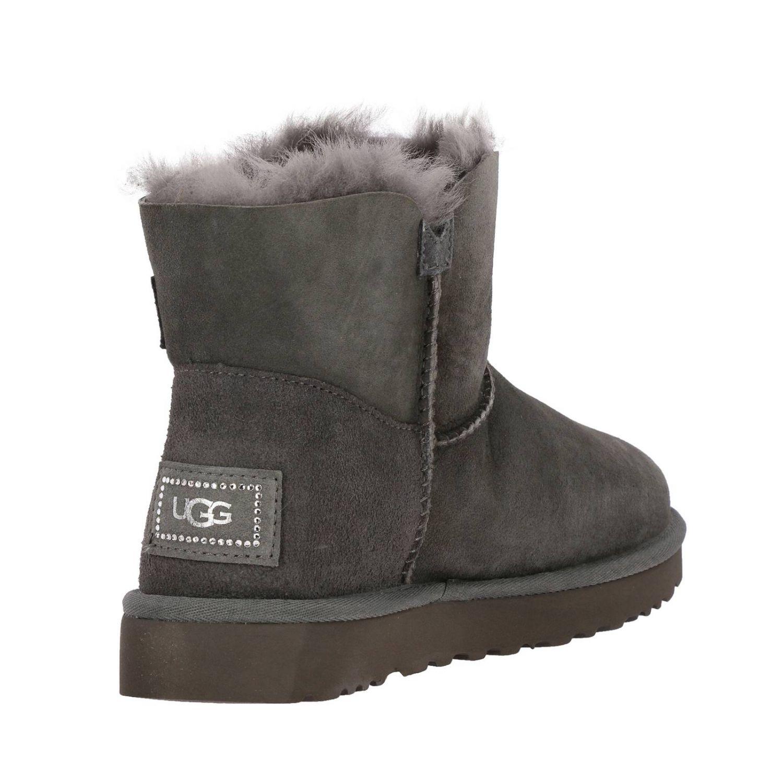 平底靴 Ugg Australia: 平底靴 女士 Ugg Australia 灰色 5