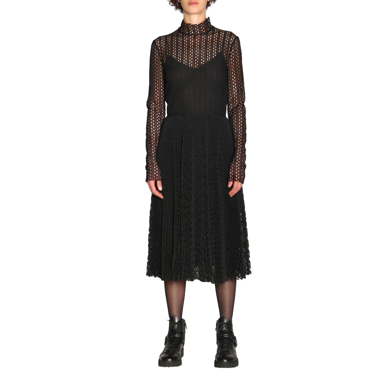 Kleid Philosophy Di Lorenzo Serafini: Kleid damen Philosophy Di Lorenzo Serafini schwarz 1