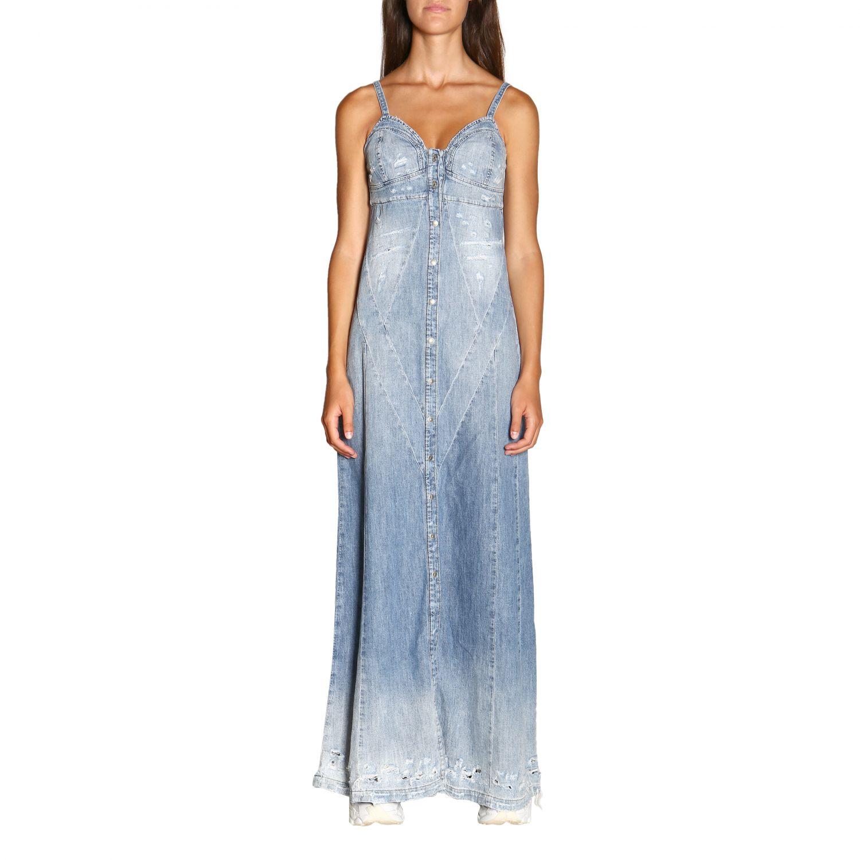 Kleid damen Diesel denim 1