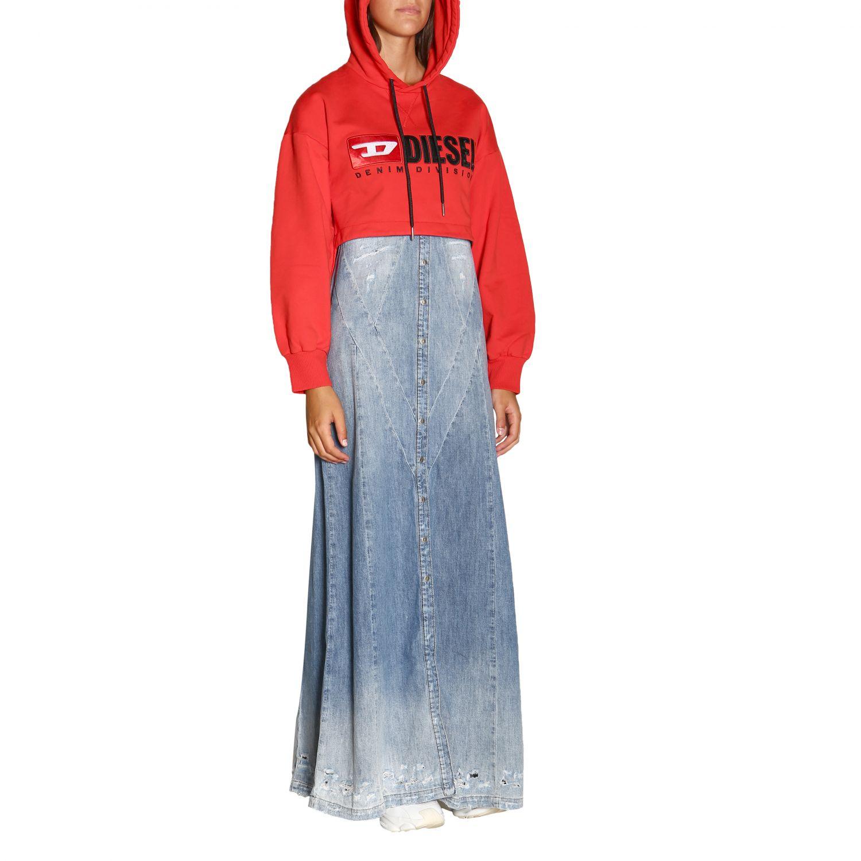 Kleid damen Diesel denim 2