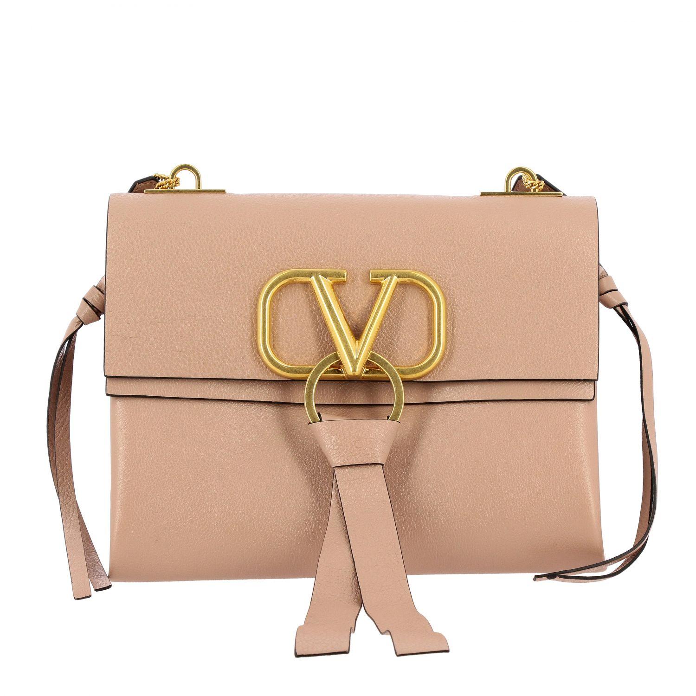 Borsa a spalla donna Valentino Garavani rosa 1