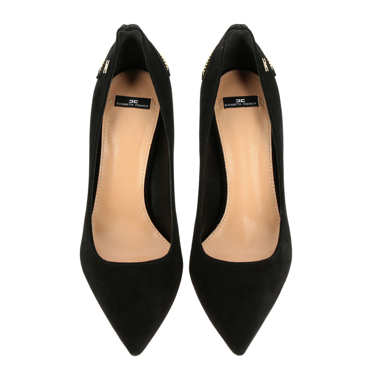 Scarpe con tacco Elisabetta Franchi: Décolleté Elisabetta Franchi con stella di strass nero 3