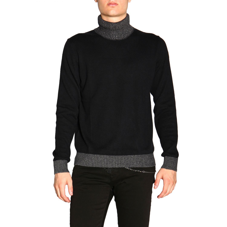Colmar 基本款长袖高领毛衣 黑色 1