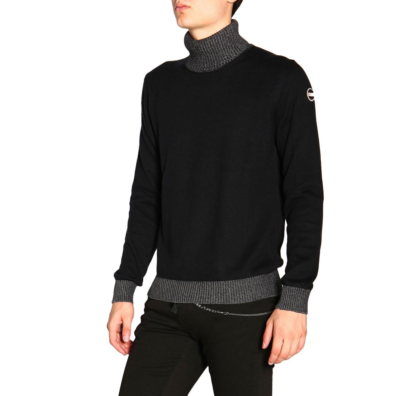 Colmar 基本款长袖高领毛衣 黑色 4