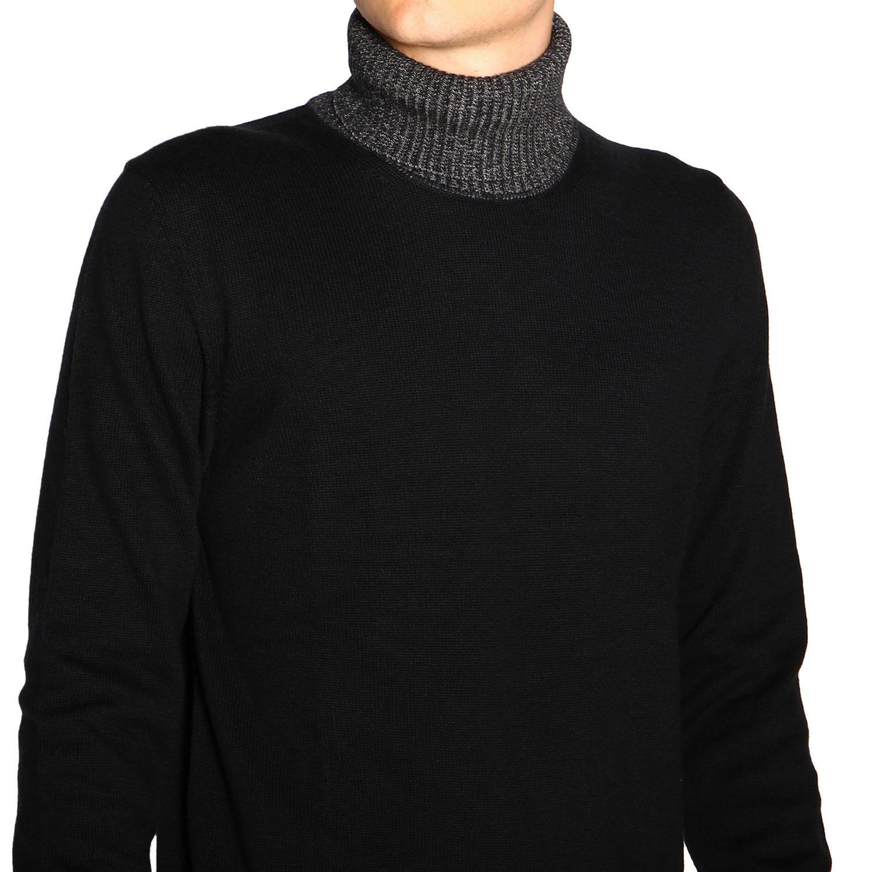 Colmar 基本款长袖高领毛衣 黑色 5