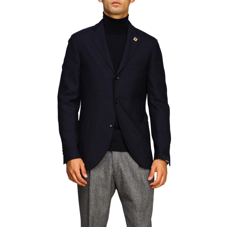 Jacket men Lardini blue 1