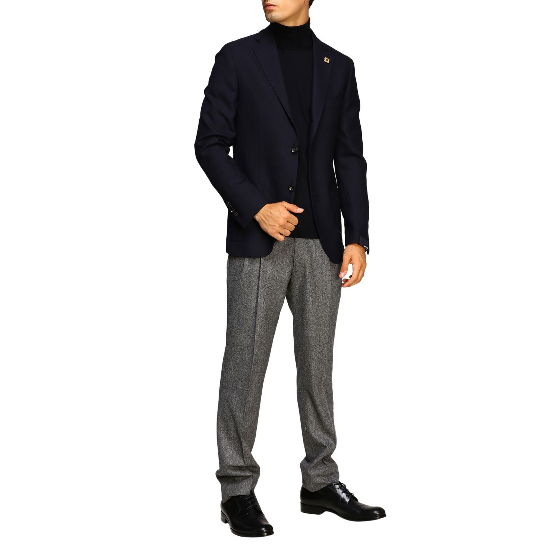 Jacket men Lardini blue 2