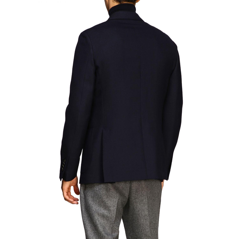 Jacket men Lardini blue 3