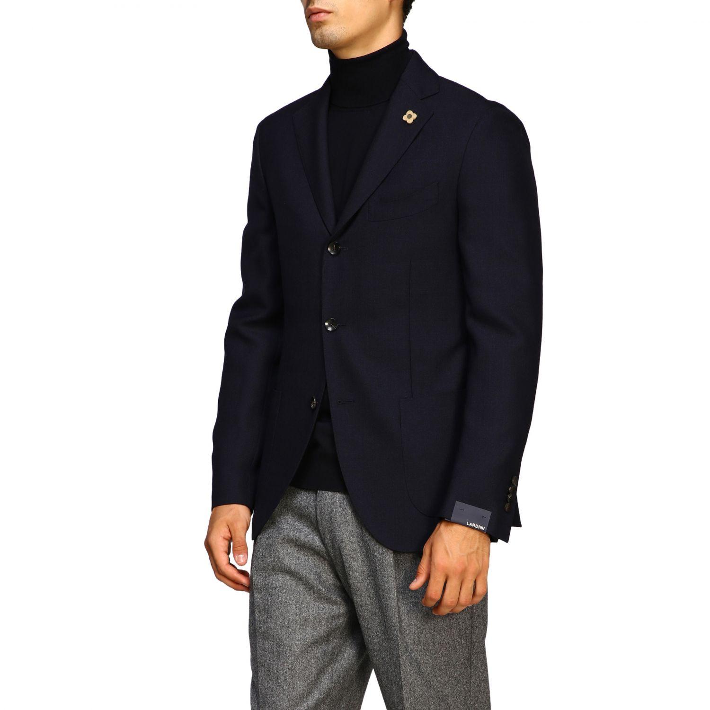 Jacket men Lardini blue 4