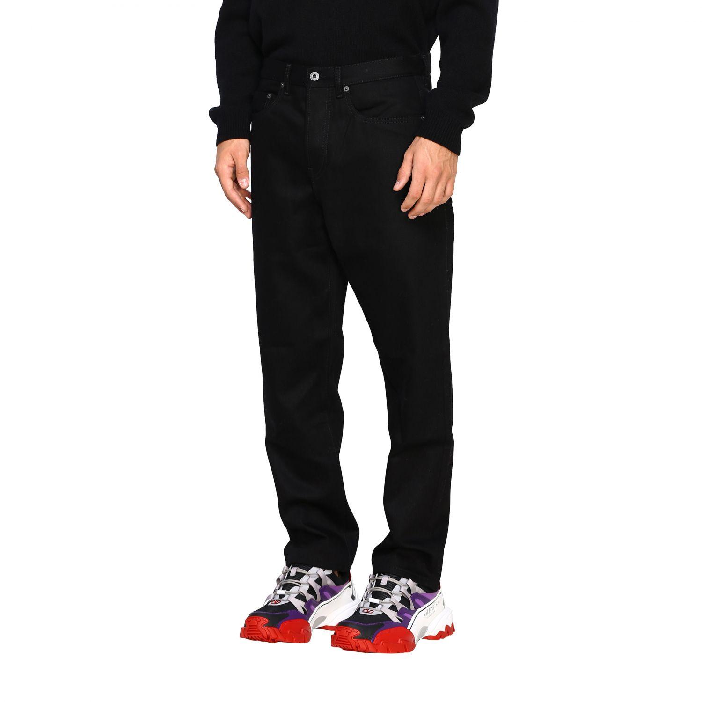Valentino Denim Jeans mit 2099 Valentino Print schwarz 4