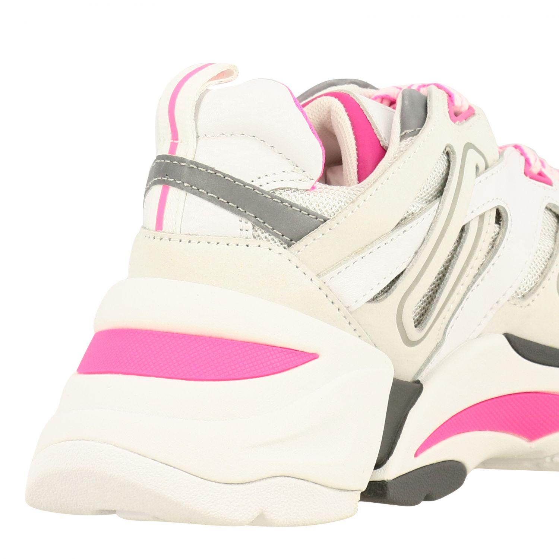 Baskets femme Ash blanc 5