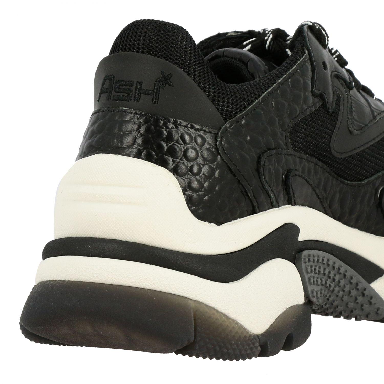Baskets femme Ash noir 5