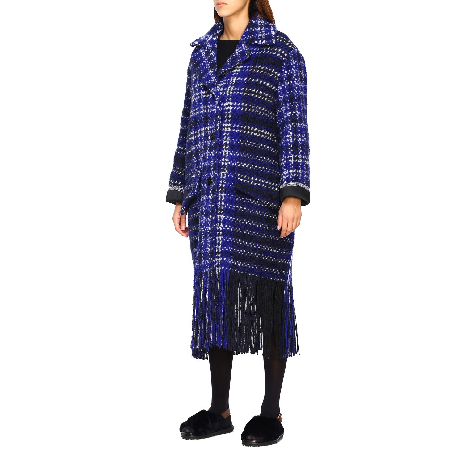 Coat Marni: Coat women Marni blue 4