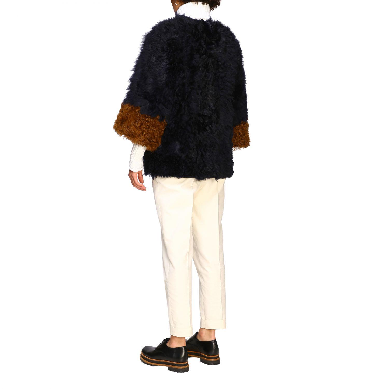 Fur coats Marni: Jacket women Marni blue 3