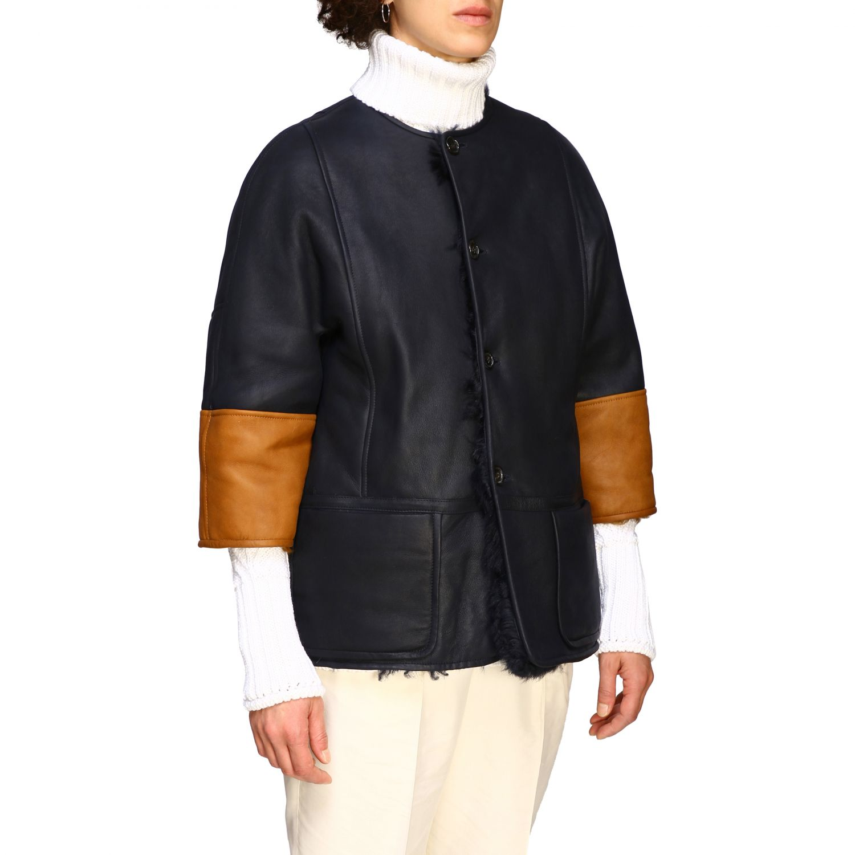 Fur coats Marni: Jacket women Marni blue 5