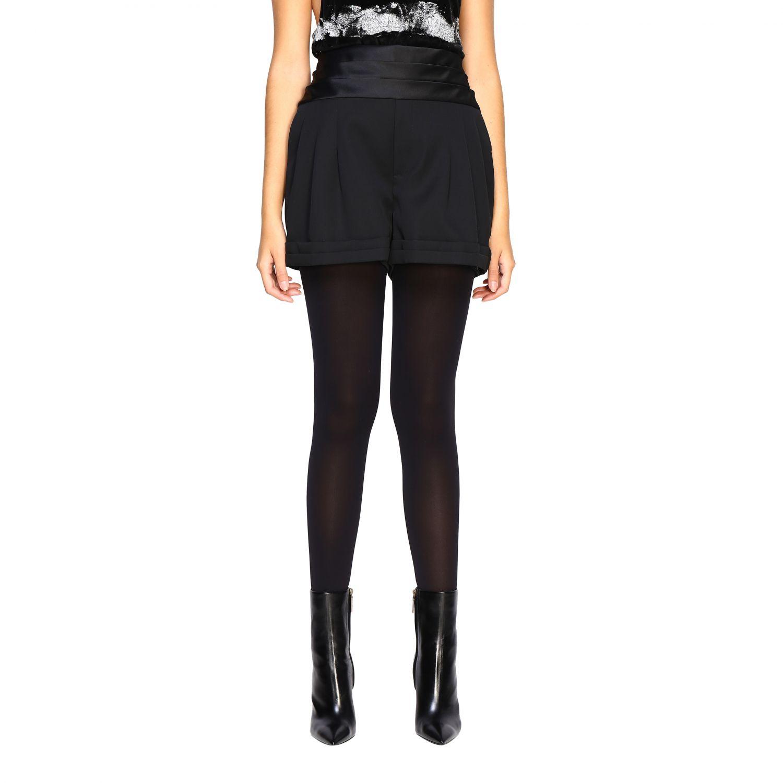 Pantaloncino donna Saint Laurent nero 1