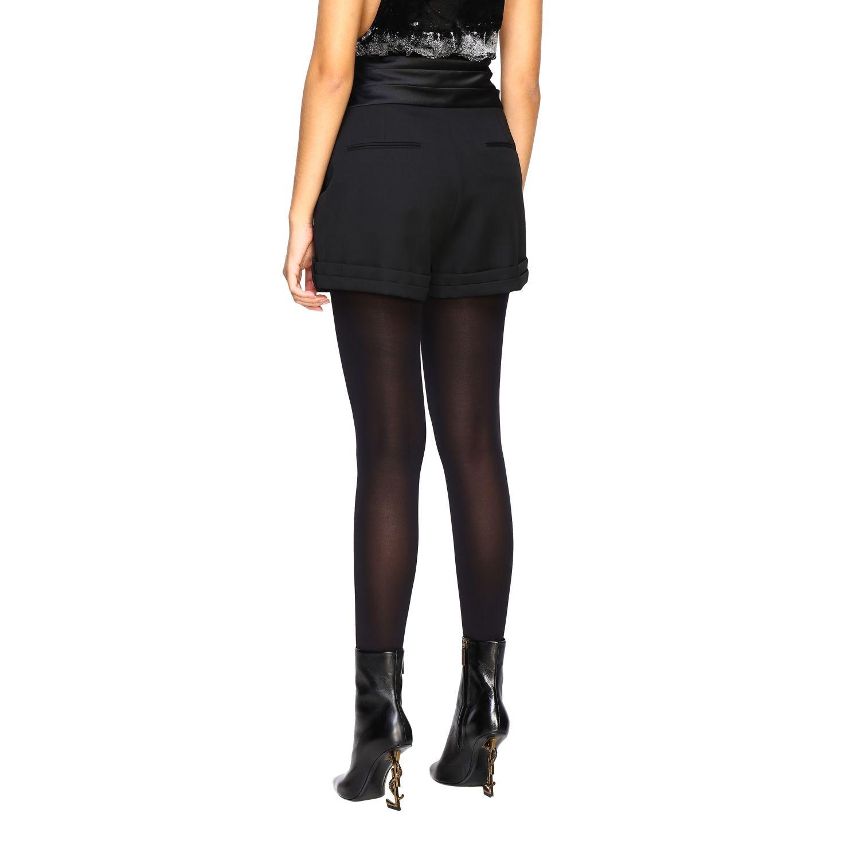Pantaloncino donna Saint Laurent nero 3
