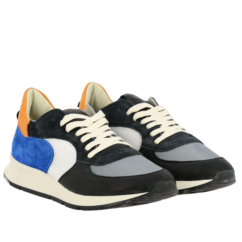 Sneakers herren Philippe Model bunt 2