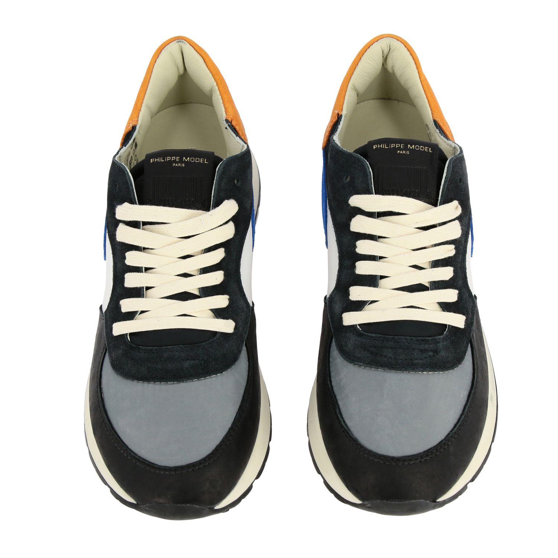 Sneakers herren Philippe Model bunt 3