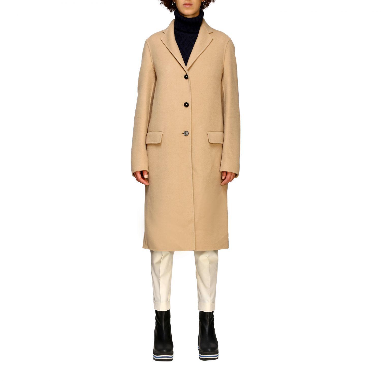 Coat women Jil Sander camel 1