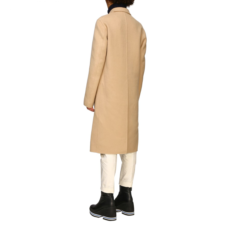 Coat women Jil Sander camel 3