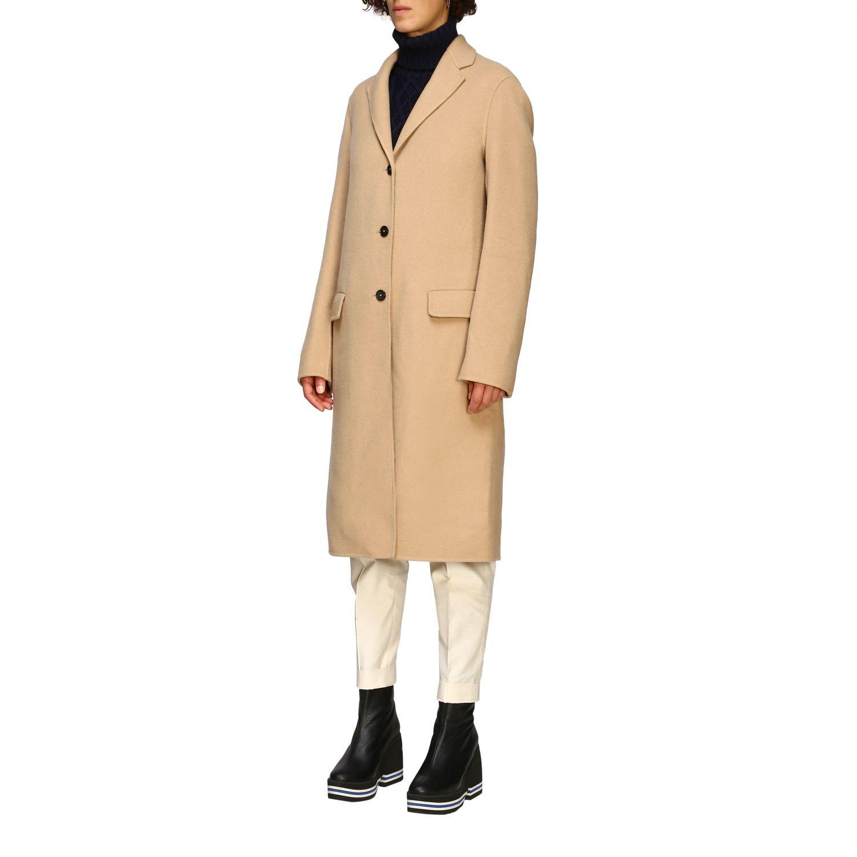 Coat women Jil Sander camel 4