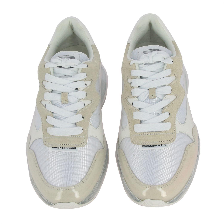 Sneakers Alexander Wang: Sneakers women Alexander Wang white 3