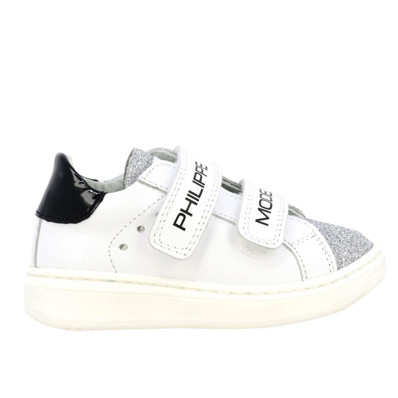Обувь Philippe Model: Обувь Детское Philippe Model белый 1