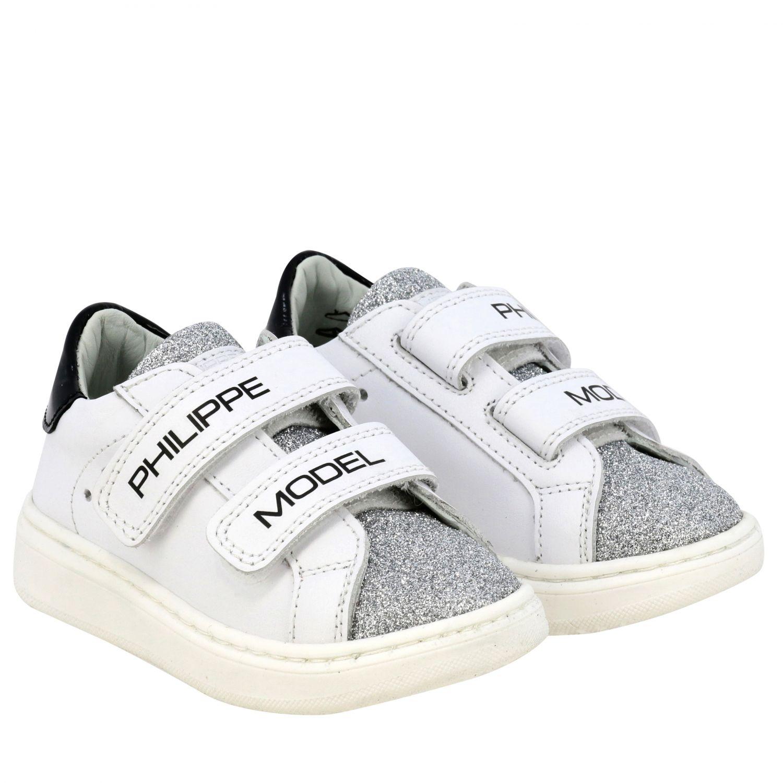 Обувь Philippe Model: Обувь Детское Philippe Model белый 2