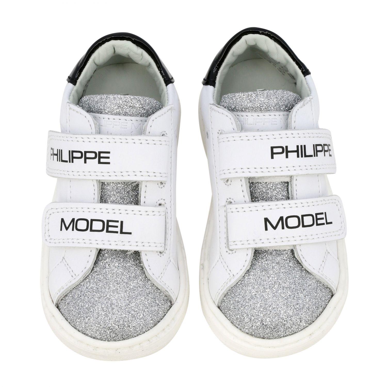 Обувь Philippe Model: Обувь Детское Philippe Model белый 3