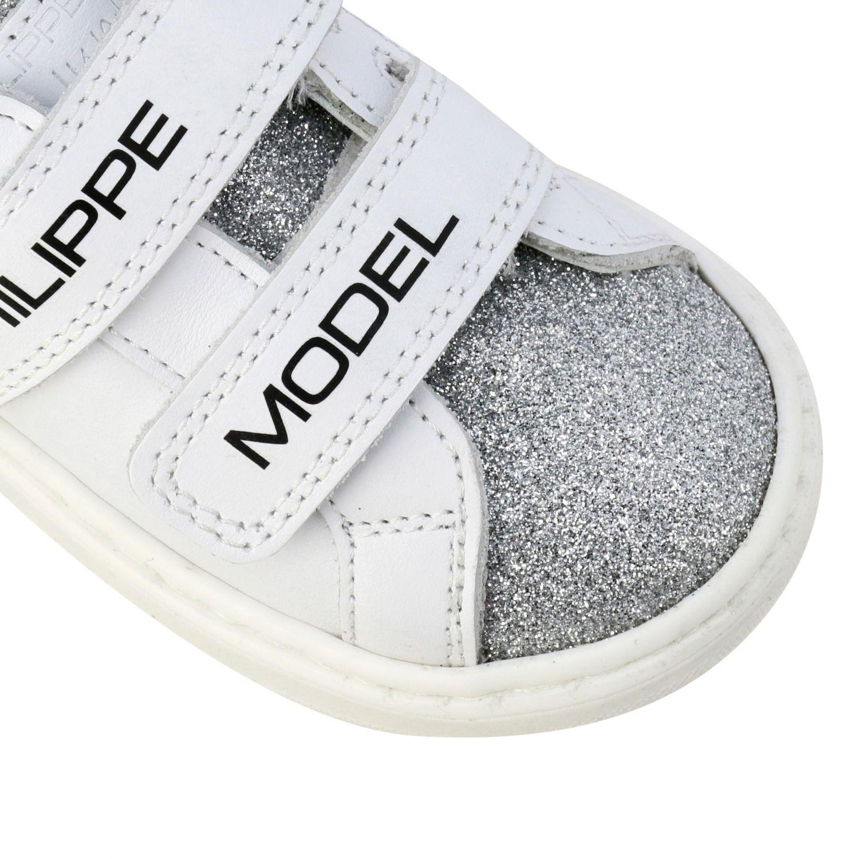 Обувь Philippe Model: Обувь Детское Philippe Model белый 4