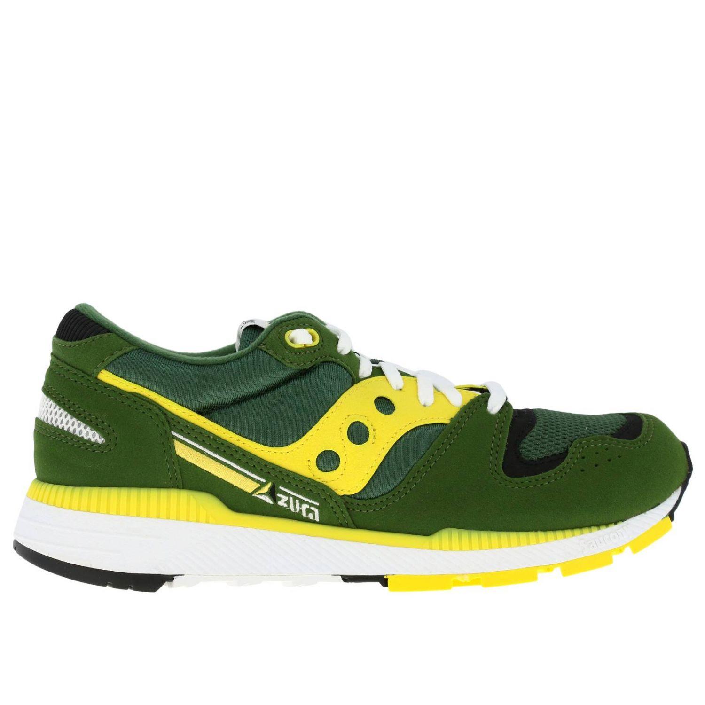 Trainers men Saucony green 1
